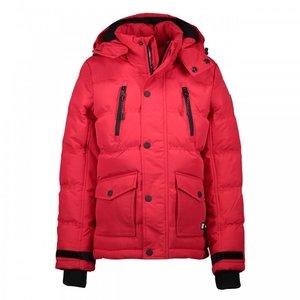 CARS JEANS jongens jas gearty nylon taslon red