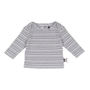 ZERO2THREE unisex t-shirt lange mouwen micro stripes aop