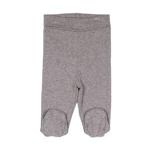 ZERO2THREE jongens broek met voetjes grey melange