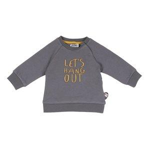 ZERO2THREE jongens sweatshirt castlerock