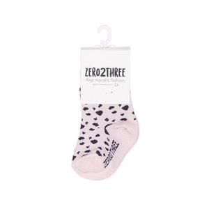 ZERO2THREE meisjes sokken dots aop