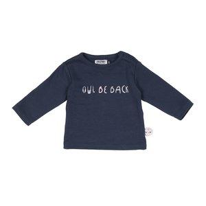 ZERO2THREE meisjes t-shirt lange mouwen mood indigo