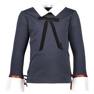 Nono meisjes longsleeve navy blazer karlijn