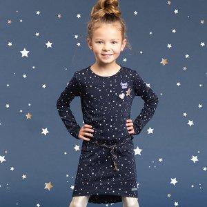 Quapi meisjes jurk dark navy stars tamia 4