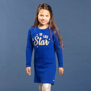 Quapi meisjes jurk cosmos blue tanika