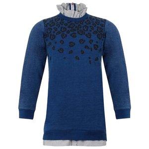 LITTLE MISS JULIETTE meisjes jurk denim blue