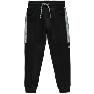 Quapi jongens joggingbroek dark blue stripe tom