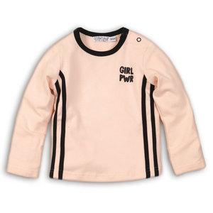 DIRKJE BABYKLEDING meisjes t-shirt light pink girl power