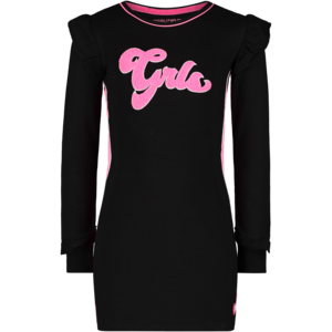 4PRESIDENT meisjes jurk black arabella