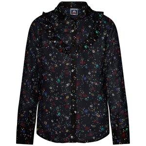 RETOUR DENIM DE LUXE meisjes blouse black yasmine