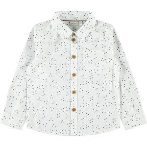 NAME IT jongens blouse snow white