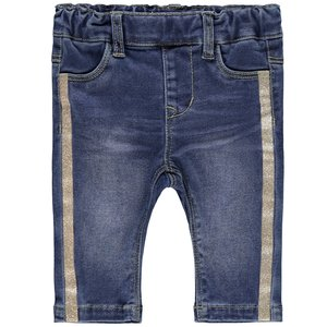 NAME IT meisjes tregging medium blue denim