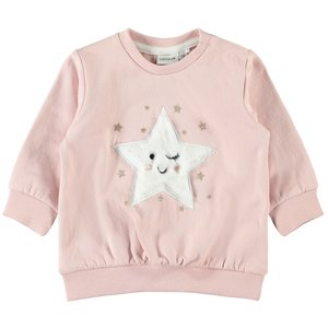 NAME IT meisjes trui silver pink
