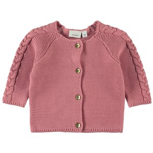 NAME IT meisjes vest dusty rose