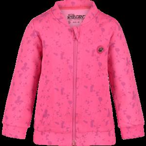 4PRESIDENT meisjes vest pink aop