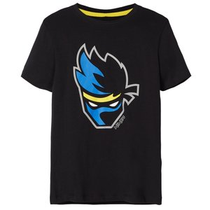 NAME IT jongens t-shirt black ninja fortnite