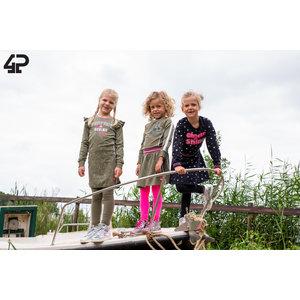 4PRESIDENT 4PRESIDENT meisjes jurk army fern