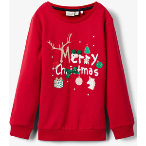 NAME IT trui jester red kerstmis