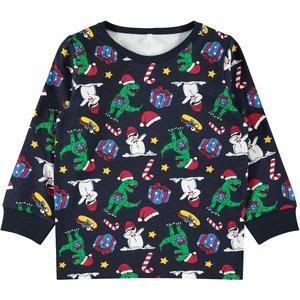 NAME IT NAME IT jongens pyjamaset dark sapphire kerstmis