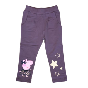 NAME IT meisjes joggingbroek black plum