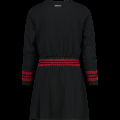 VINGINO Vingino meisjes jurk deep black pajol
