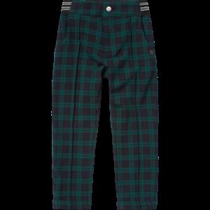 VINGINO meisjes broek black green check sakine