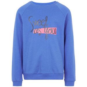 NAME IT meisjes trui dazzling blue