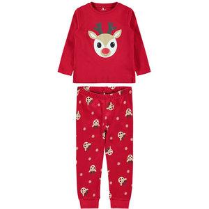 NAME IT unisex pyjama jester red kerstmis