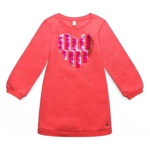 ESPRIT meisjes jurk   coral