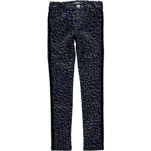 NAME IT meisjes skinny fit allover broek blue depths polly