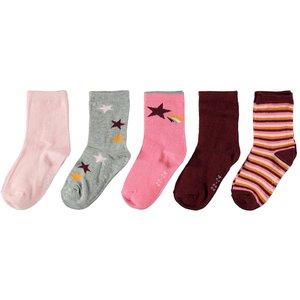 NAME IT meisjes sokken cabernet
