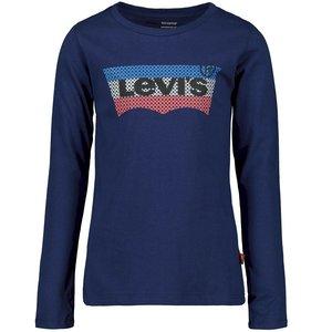 LEVI'S meisjes longsleeve medieval blue