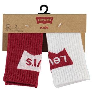 LEVI'S jongens sokken red