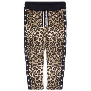 CLAESEN'S meisjes joggingbroek brown panther