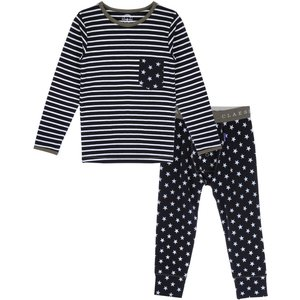 CLAESEN'S jongens pyjama star stripes