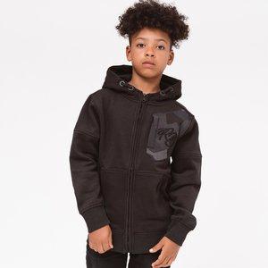 RIPSTOP jongens vest black karmel