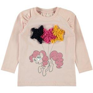 NAME IT meisjes longsleeve silver pink My Little Pony
