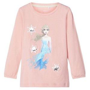 NAME IT meisjes longsleeve silver pink Frozen 2