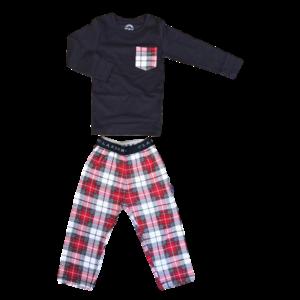 CLAESEN'S jongens pyjama checks