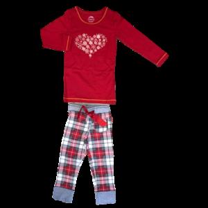 CLAESEN'S meisjes pyjama checks