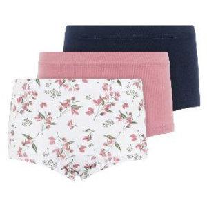 NAME IT meisjes 3-pack onderbroeken heather rose