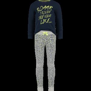 VINGINO meisjes pyjama light grey melee westha