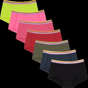 VINGINO meisjes 7-pack hipster neon pink weekly