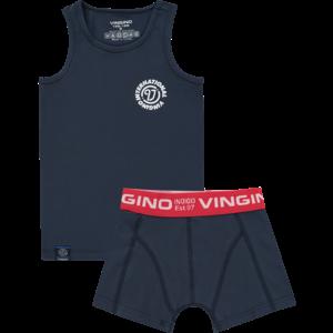 VINGINO Vingino jongens ondergoed set dark blue local