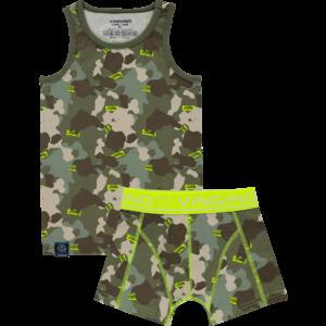VINGINO jongens ondergoed set multicolor green international