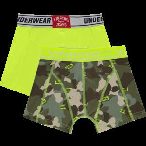 VINGINO jongens 2-pack boxershorts multicolor green international