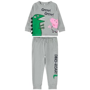 NAME IT NAME IT jongens pyjama grey melange peppa pig