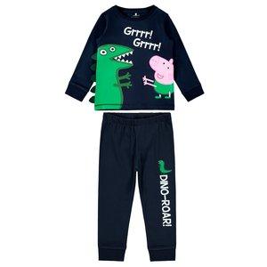 NAME IT jongens pyjama dark sapphire peppa pig
