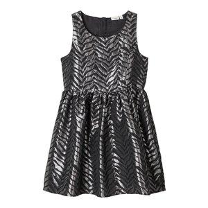 NAME IT NAME IT meisjes jurk silver