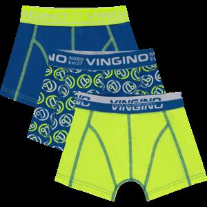 VINGINO jongens 3-pack boxershorts capri blue logo
